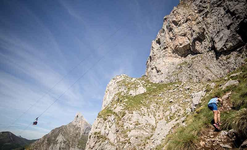Km Vertical Fuente De en Picos de Europa