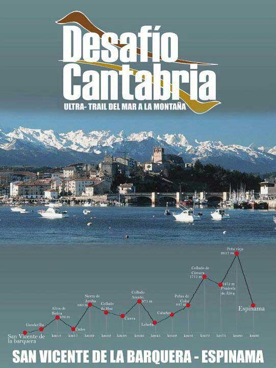 Cartel Desafío Cantabria