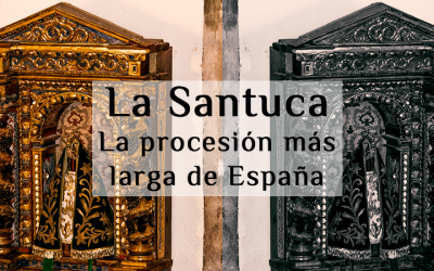 La Procesión más larga de España en el puente de Mayo, Liébana. La Santuca.