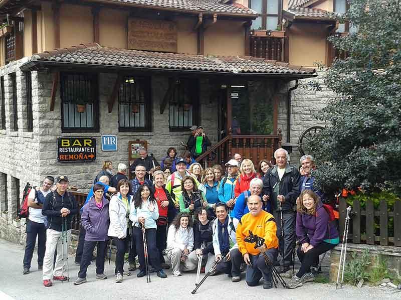 Grupo de Calafell en Hostal Remona