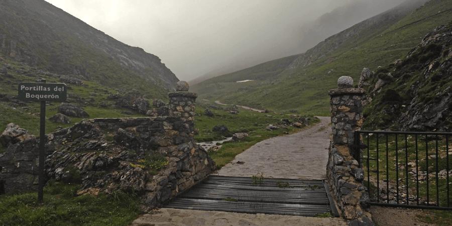 Entrada a los Puertos de Áliva - Portilla del Boquerón