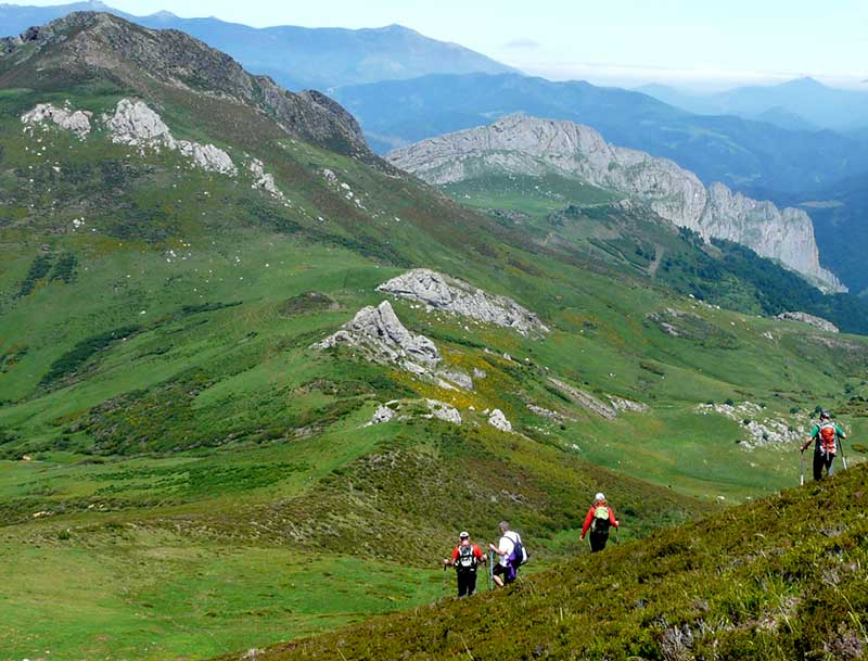 Rutas en Liébana: ruta Pico Bistruey