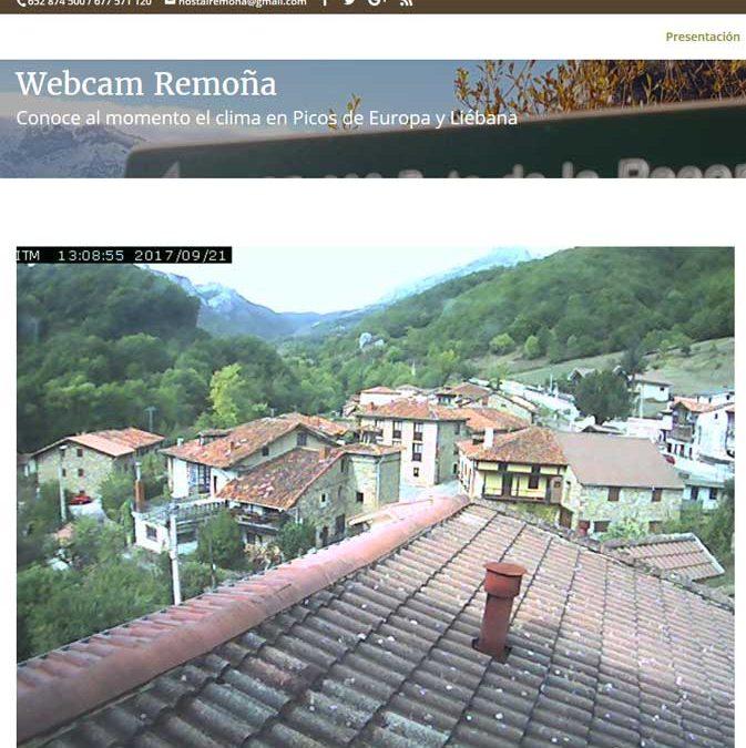 Webcam en Liébana