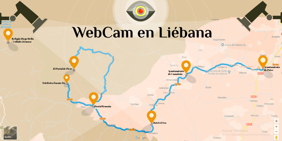 Webcam en Liébana