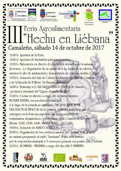 Cartel Hechu en Liébana 2017