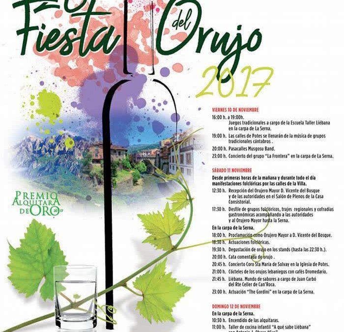Programa Fiesta del Orujo Potes 2017