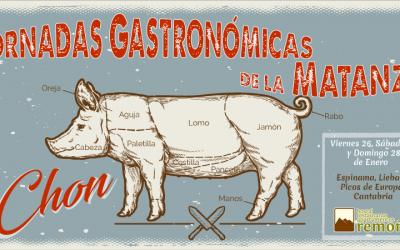 Jornadas Gastronómicas de la Matanza del Chon en Liebana, Cantabria.