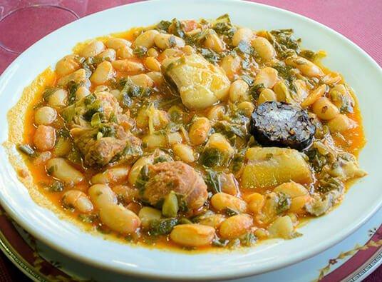 Cocido Montañés - Bar Restaurante Polaciones - cantabria
