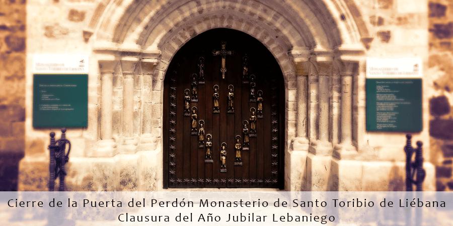Puerta del Perdón del Monasterio de Santo Toribio de Liébana