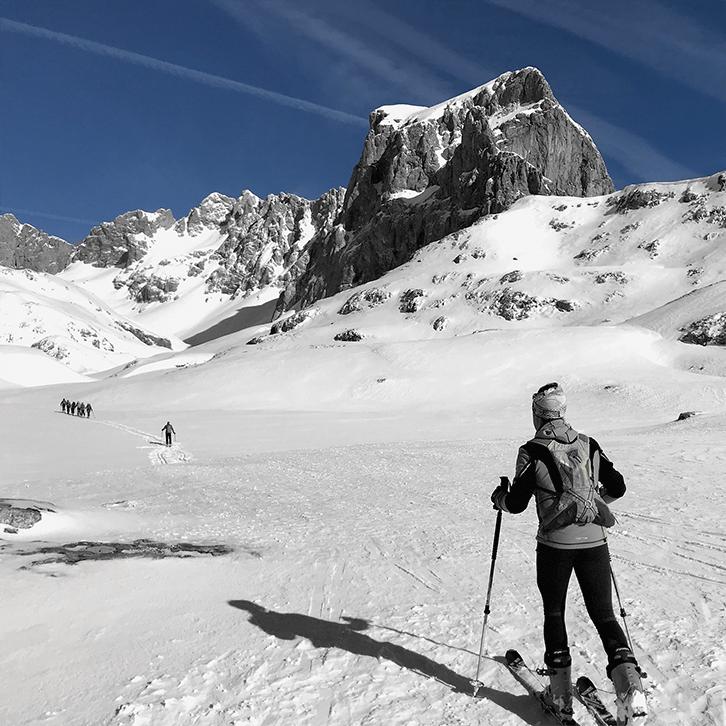 que hacer en cantabria - esqui de montana