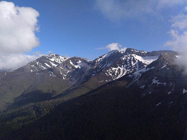 Ruta de Somo por la Peña Las Pártigas mejores rutas en picos de europa