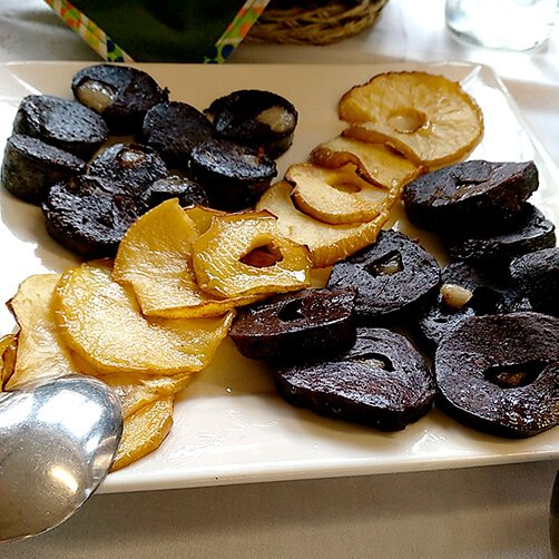 borono con manzana - javier castro - hostal remona