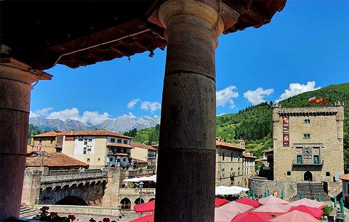 torre del infantado potes - visita ganaderia vacas - hostal remona