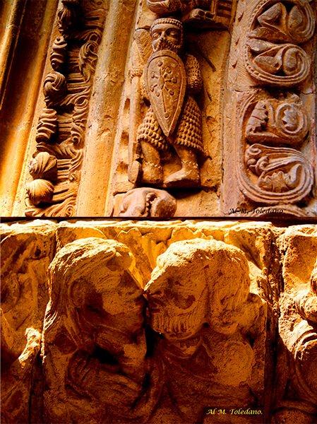 Figuras en las diferentes iglesias de Liébana - Foto de Alfonso Martínez Toledano