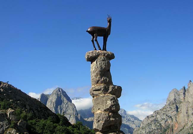 Mirador del Tombo en el Parque Nacional de los Picos de Europa