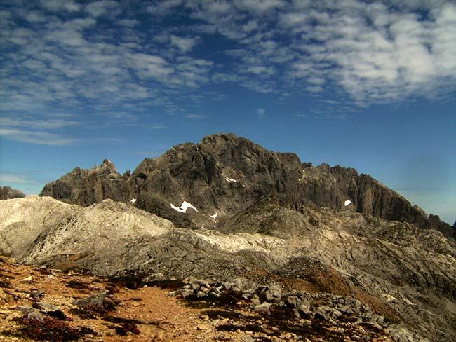 Peña Santa de Castilla cima del Parque Nacional de los Picos de Europa